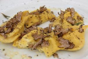Ravioli met truffel | Vakantiewoning Casa Cipresse
