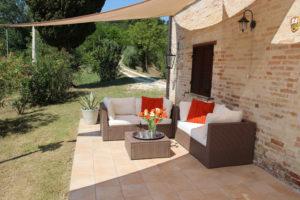 Veranda | Vakantiewoning Casa Cipresse