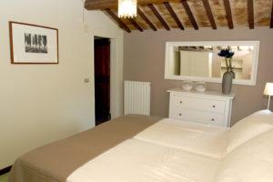 Slaapkamer boven | Vakantiewoning Casa Cipresse