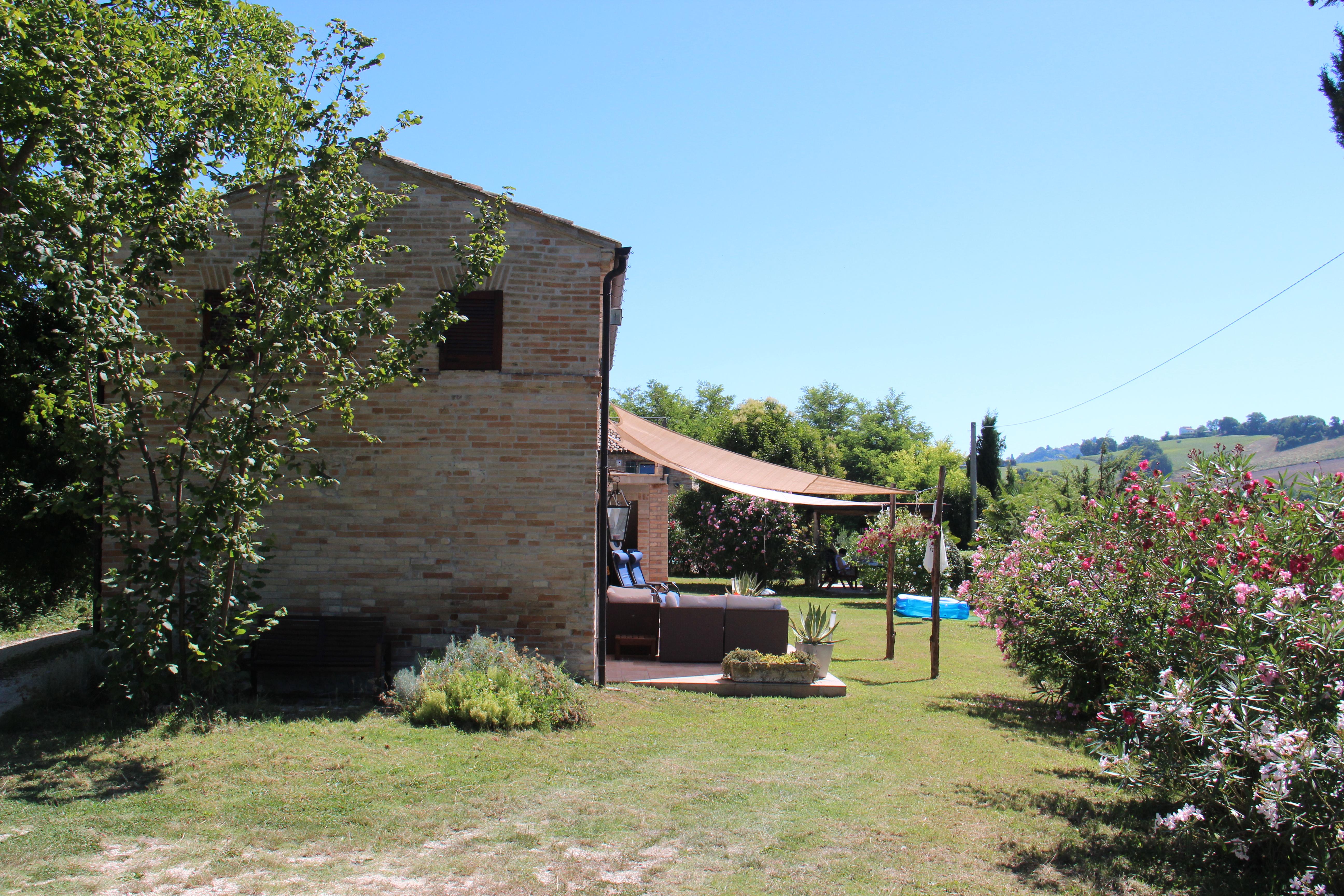 Woning en tuin | Vakantiewoning Casa Cipresse