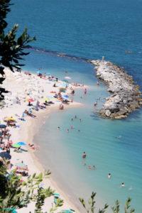 Azuurblauwe zee | Vakantiewoning Casa Cipresse