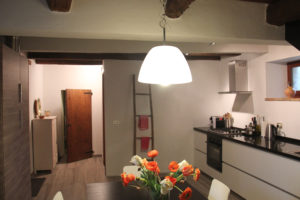 Nieuwe eetkeuken | Vakantiewoning Casa Cipresse