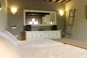 Slaapkamer beneden | Vakantiewoning Casa Cipresse