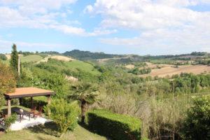 Tuin met pergola | Vakantiewoning Casa Cipresse