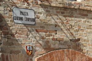 Straatnummering met dierfiguren | Vakantiewoning Casa Cipresse
