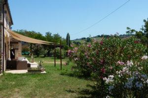 Bloeiende oleanders | Vakantiewoning Casa Cipresse