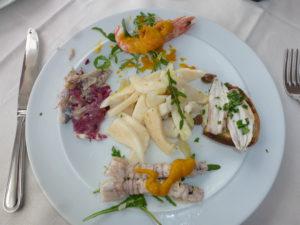 Antipasti van vis | Vakantiewoning Casa Cipresse