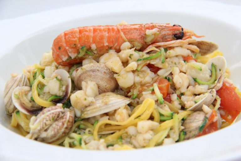 Pasta met zeevruchten | Vakantiewoning Casa Cipresse