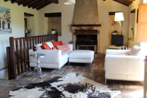 Woonkamer boven | Vakantiewoning Casa Cipresse